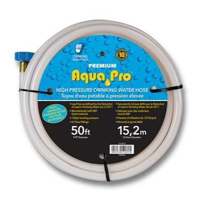 """Boyau eau potable 1/2"""" x 50' Aqua Pro"""