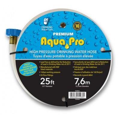 """Boyau eau potable 1/2"""" x 25' Aqua Pro"""