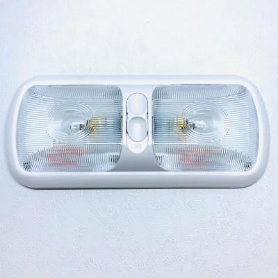 Plafonnier double optique