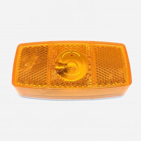 Feu de position en surface orange