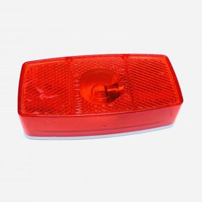 Feu de position en surface rouge
