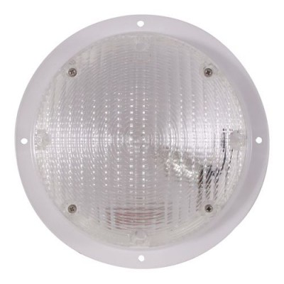 Lumière ronde 7'' blanche