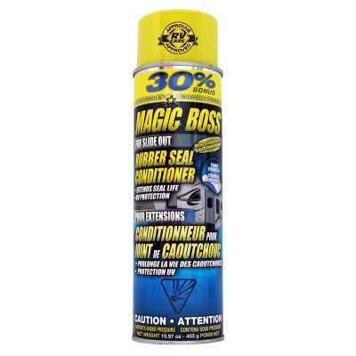 Conditionneur joint de caoutchouc Magic Boss