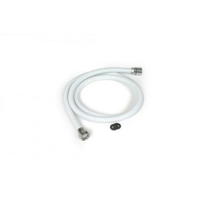 Boyau de douche blanc 60'' flexible