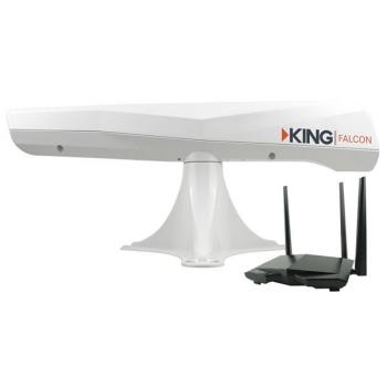 Amplificateur Wifi King Falcon Noir Belco Vr Accessoires De Camping