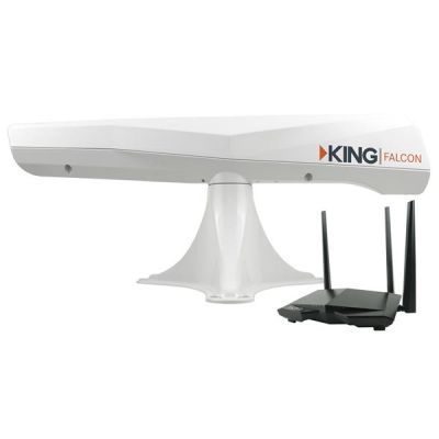 Amplificateur Wifi King Falcon blanc