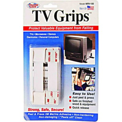 Attaches TV Grips blanches