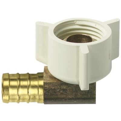 Coude 1/2'' FPT x 1/2'' Barb BRASS