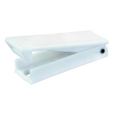 Retenue de porte bagages carrée blanc