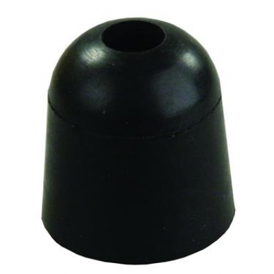 Butoir de porte noir 1''