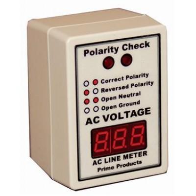 Voltmètre numérique avec polarité