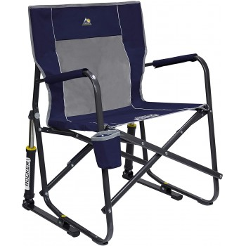 Chaise berçante Freestyle bleu