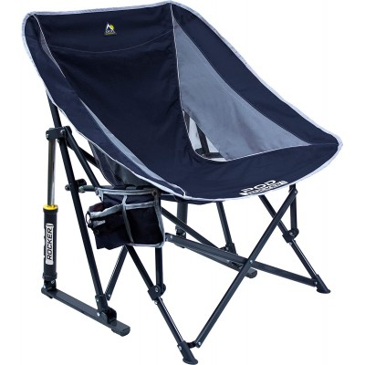 Chaise berçante Pod bleu