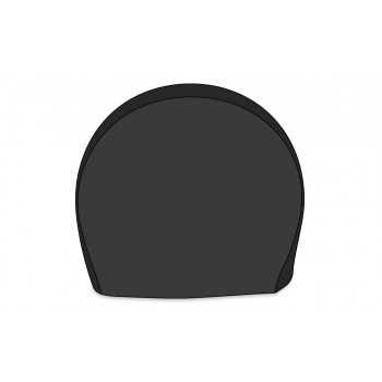 Housse de pneu au sol noire