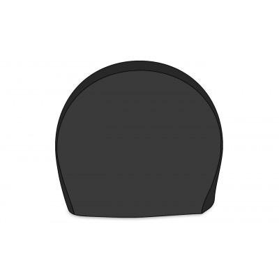 Housse pneu au sol noire