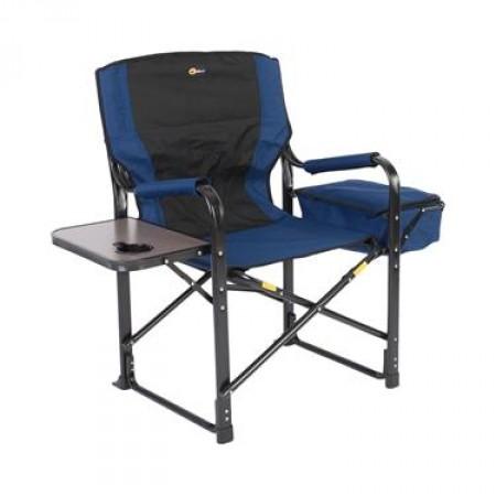 Chaise directeur bleu