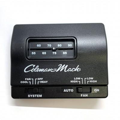 Thermostat analogique Coleman-Mach noir