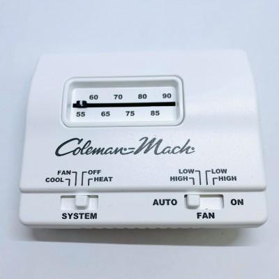 Thermostat analogique Coleman-Mach blanc
