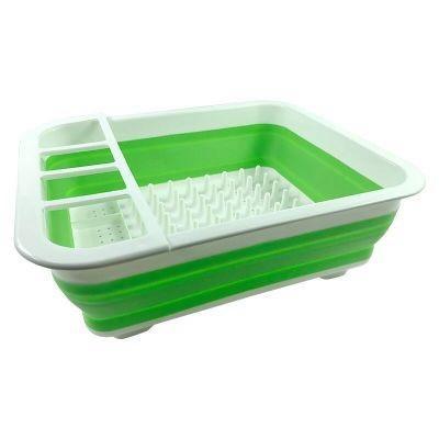 Égouttoir repliable pour vaisselle