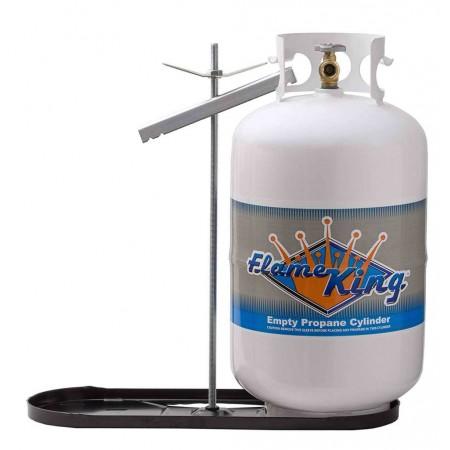 Support de réservoir à propane double noir