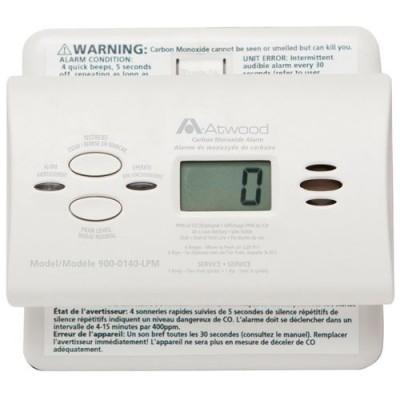 Détecteur monoxyde de carbone numérique Atwood
