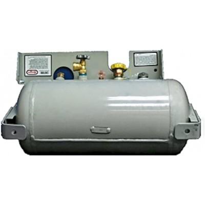 Réservoir de propane horizontal 25 lbs